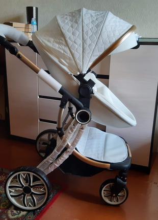 Новая универсальная супер легкая детская коляска 2 в 1