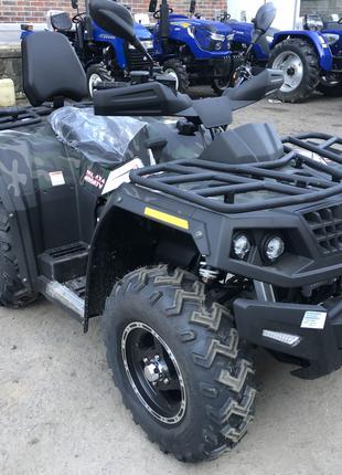 Квадроцикл Hisun 400 4x4 безкоштовна доставка по всій Україні!