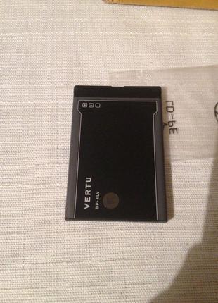 Оригинальный и новый аккумулятор на  vertu constellation qwerty