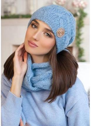 Комплект (шапка и шарф-снуд)