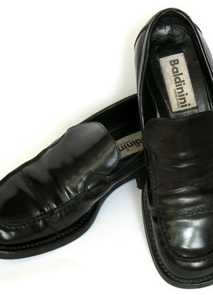 Baldinini Италия кожаные туфли 38-38,5 классика закрытые слипоны