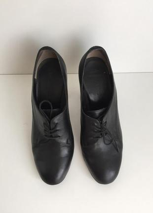 Ботинки ботильоны antonio biaggi на каблуке натуральная кожа