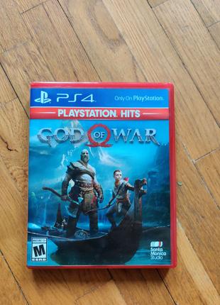 God of war PS4 (англ версия)