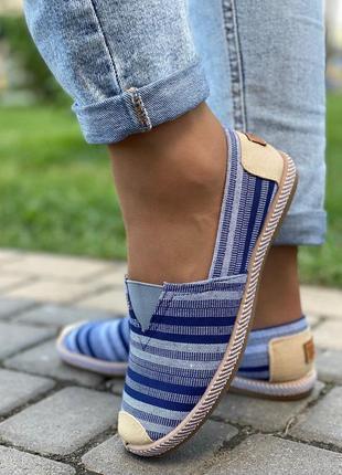 Дизайнерские эспадрильи - туфли. 36-41