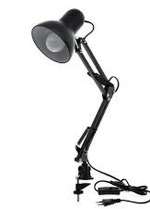 Настольная лампа на струбцине и на подставке