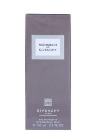 Givenchy monsieur de givenchy  туалетная вода  100мл