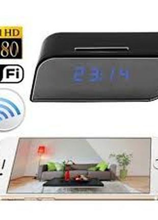 Часы Wi-fi Full HD Настольные С Камерой