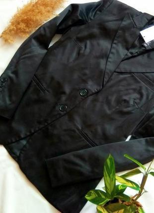 Пиджак черного цвета от h&m
