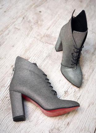 Новинки!!! ботинки кожаные на шнуровке..большой выбор обуви!