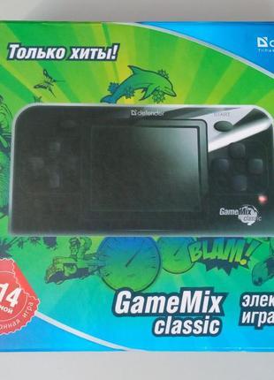 8-ми битная портативная игровая приставка - Defender Game Mix ...