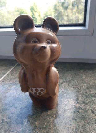 """Статуетка радянська """" Олімпійський ведмедик"""""""