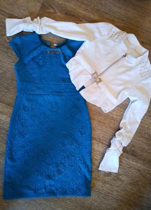Платье и пиджак ..красивый комплект двойка