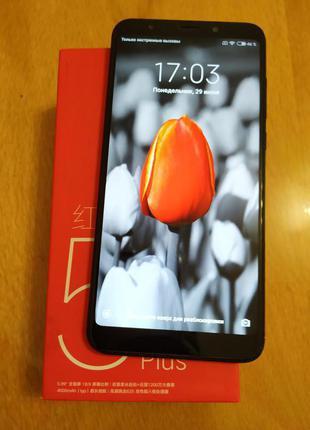Смартфон XIAOMI  Redmi 5 plus  4/64  Black