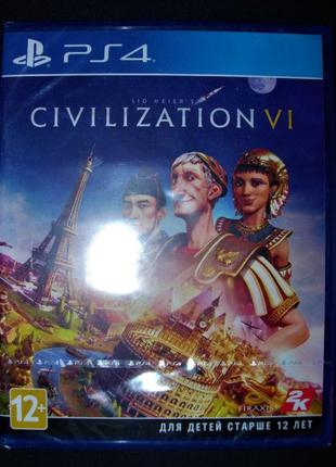 Sid Meier's Civilization VI. Новый Диск PS4, русский, оригинал