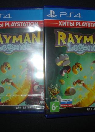 """""""Rayman Legends"""" Русский Запечатанный Диск PS4. Новый"""