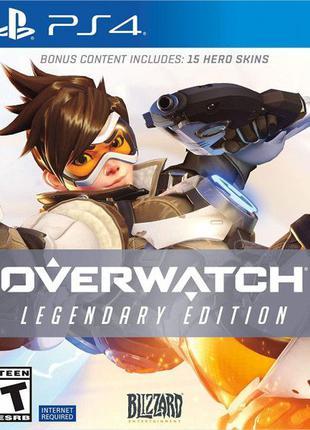Overwatch Legendary Edition. Русский Запечатанный Диск PS4. Новый