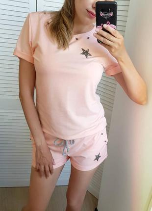 Костюм летний шорты футболка