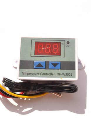 Терморегулятор XH-W3001 (термореле) цифровой (220В) в корпусе 150