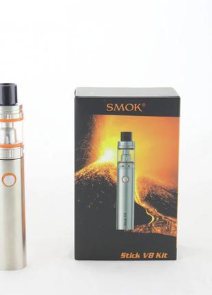 Стартовый набор Smok Stick V8 Silver Вейп Электронная сигарета