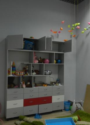 Стенка для офиса, кабинета или для детской комнаты