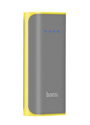 Портативное зарядное Power Bank Hoco B21 Entourage 5200 мАh