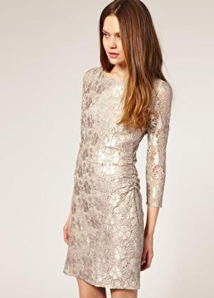 Reiss новое брендовое#кружевное платье#сукня коктейльное#вечер...