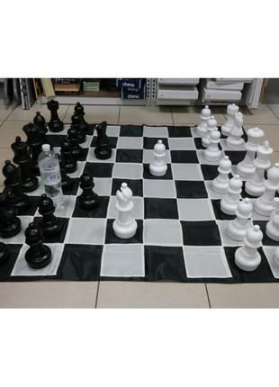 Большие садовые (уличные) шахматы СШ-12, король - 30 см, поле 140