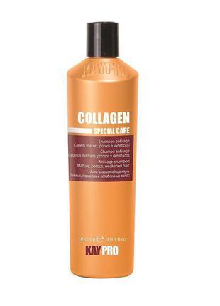 Kaypro collagen specialcare шампунь с коллагеном