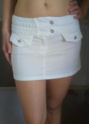 Пляжная мини юбка