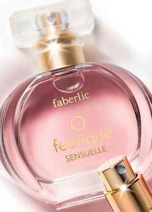 Парфюмерная вода для женщин o feerique sensuelle faberlic 3017...