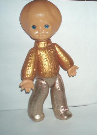 Кукла винтаж СССР Виктория Киев ф-ка Победа дутыш клеймо