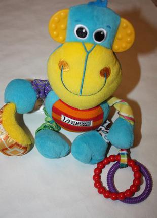 """Развивающая детская игрушка """"мартышка"""" ф.lamaze отличное состо..."""