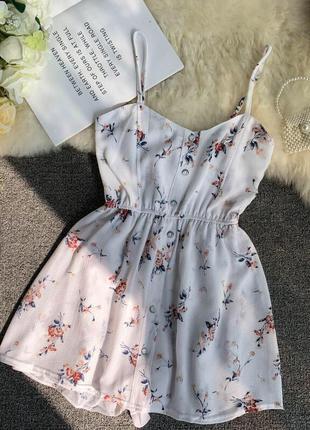 ❤ женское белое  платье  ромпер ❤