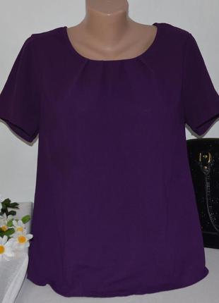 Брендовая фиолетовая блуза bonmarche шри ланка этикетка