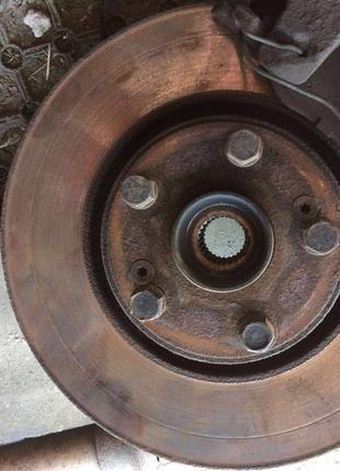 Передние тормозные диски б/у на Рено Лагуну 2,Renault Laguna 2