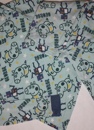 """Котоновая пижама для мальчика 4/5лет""""свинка пепа""""р-110см хорош..."""