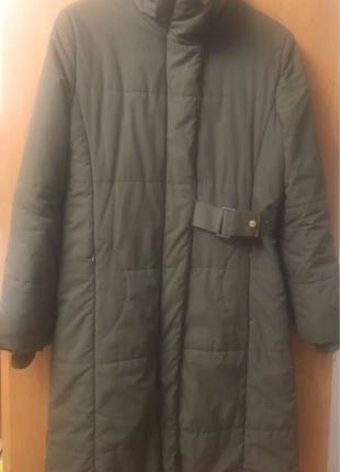 Демисезонное пальто испанского бренда MANGO, размер XL