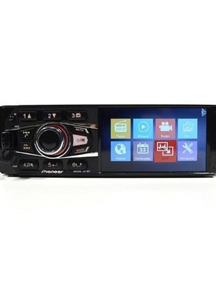 Магнитола MP5 Pioneer 4033 экран 4.1 Bluetooth, выход по камер...
