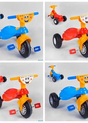 Детский велосипед Pilsan My Pet 07-132 ЖЁЛТО-СИНИЙ и КРАСНО-ЖЁ...