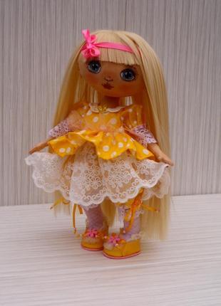 Текстильная интерьерная кукла, подарок на день влюбленных для дев