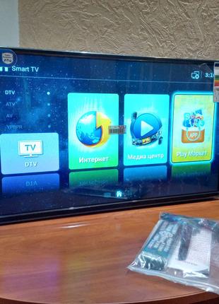 "Телевизор Smart TV 32"" 2/8 Gb android 7.0 DVT T-2"