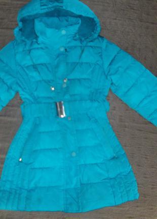 Зимняя куртка 128-134р