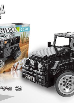 Конструктор XINGBAO 22001 Техника Мерседес Бенц Гелентваген G650