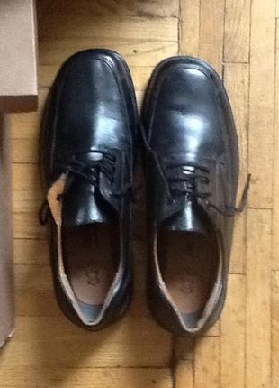 Новые австрийские кожаные туфли полуботинки dr jurgens 46 (30.5)