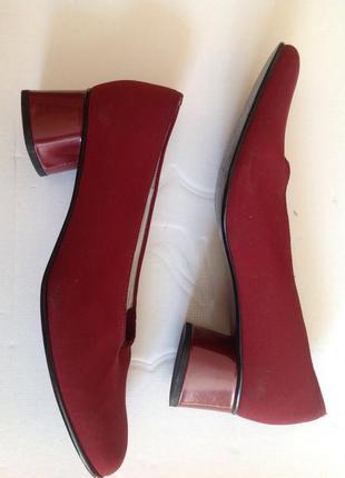 Новые немецкие туфли gabor 40-41(26.5)