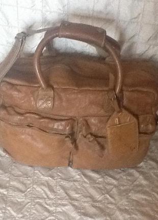 Американская кожаная сумка cowboybag