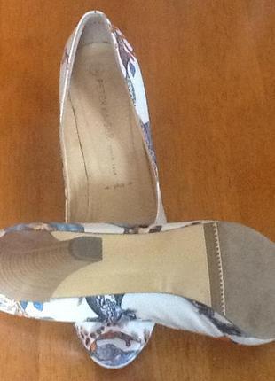 Новые австрийские кожаные туфли peter kaiser 42 (27.5)