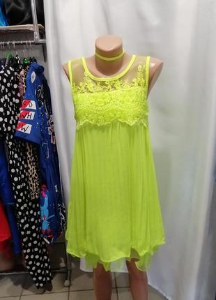 Красивое платье батист прошва