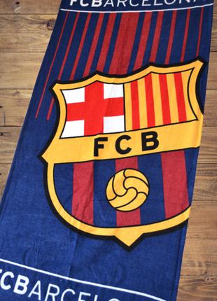 Банное (пляжное) полотенце с логотипом любимого футбольного клуба