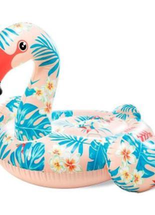 Надувной плотик Тропический Фламинго  Intex  57559